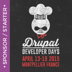 Res Telæ sponsors the 2015 Drupal Dev Days 2015 in Montpellier
